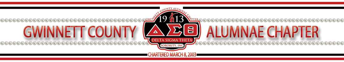 Gwinnett County Alumnae Chapter | Delta Sigma Theta Sorority, Inc.